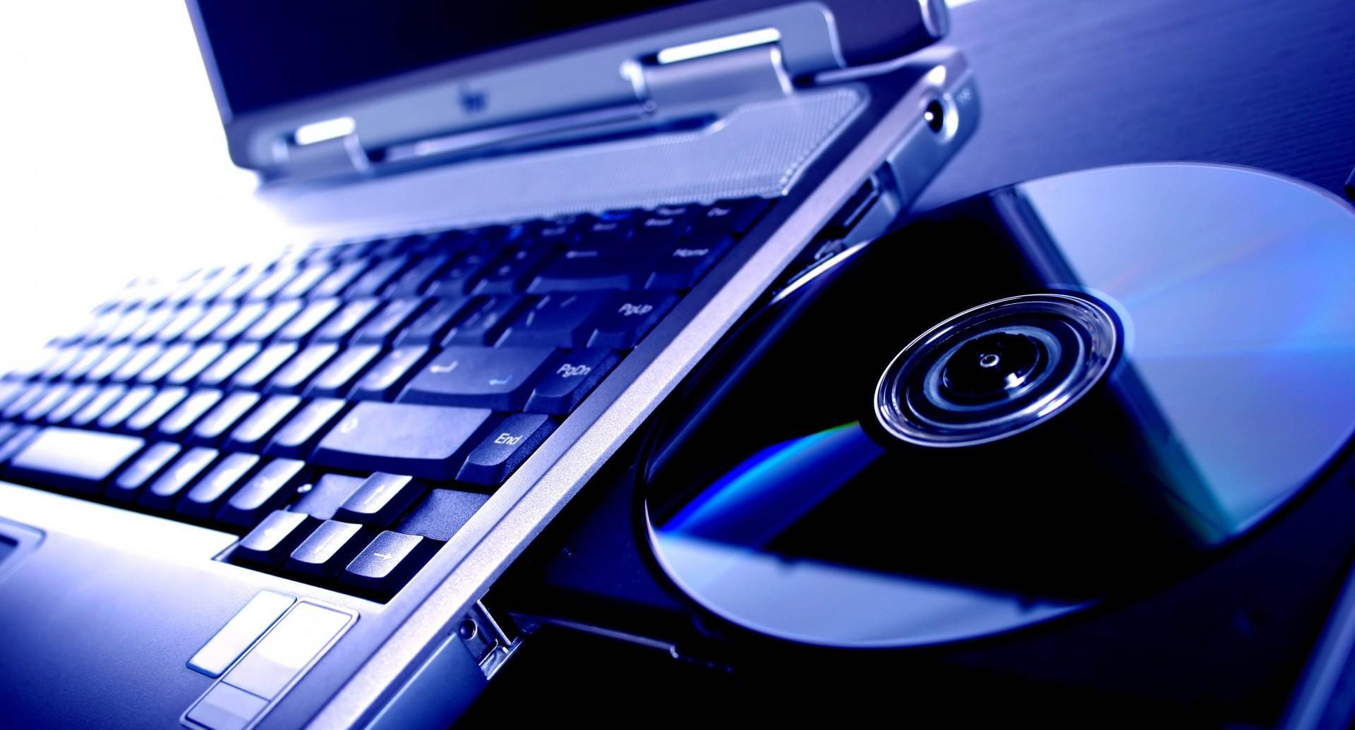Ноутбук с диском