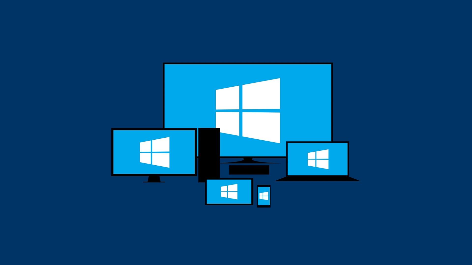 Мониторы с логотипами Windows
