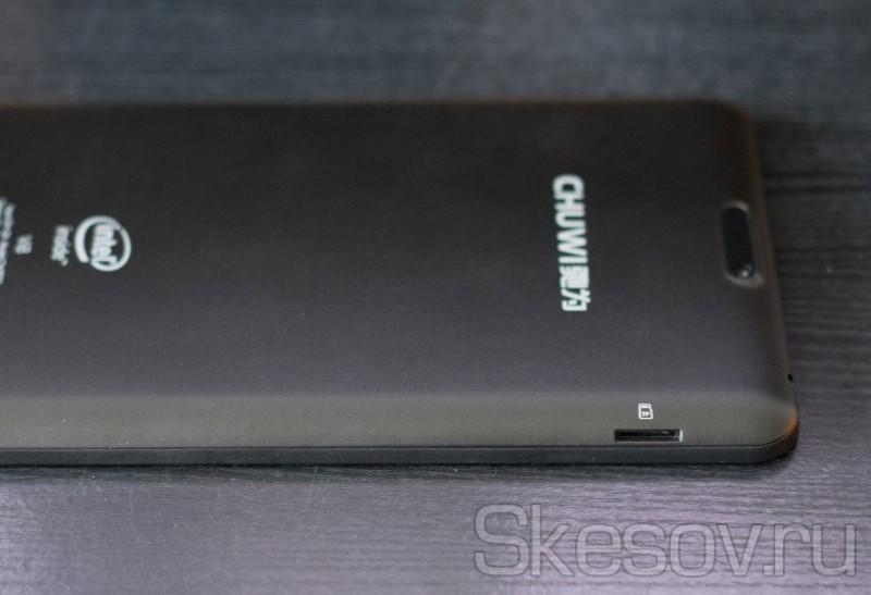 Разъем для карты MicroSD на планшете Chuwi Vi8