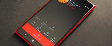 Телефон Nokia: входящий вызов