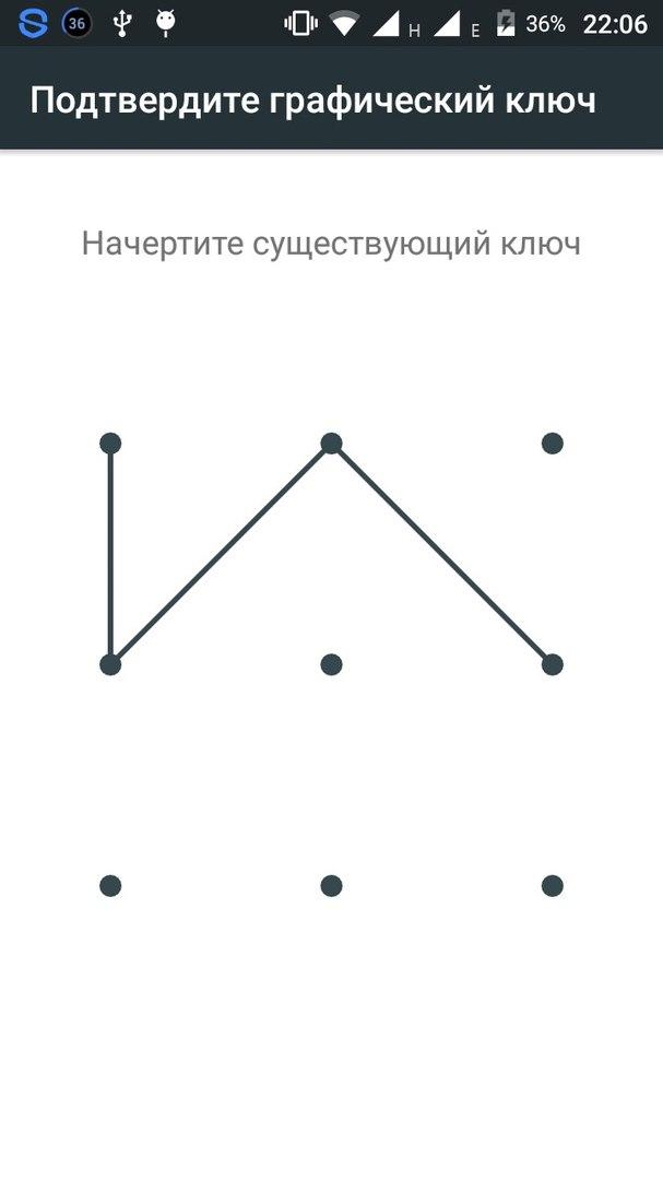 Картинки блокировка графический ключ