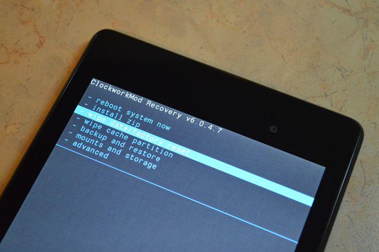 Рекавери-режим Android