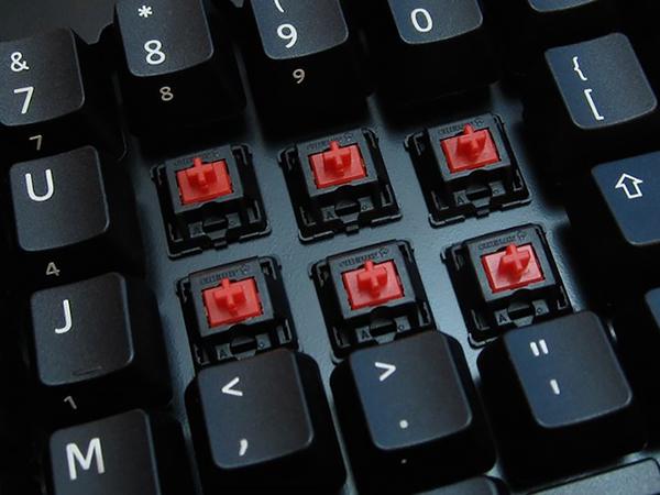 Клавиши механической клавиатуры