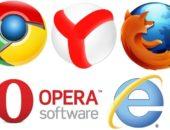 Логотипы браузеров