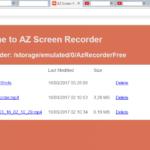 Доступ к созданным файлам через браузер