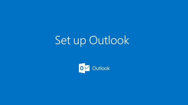 Настройка почт в Outlook