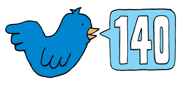 Синяя птица и ограничение в 140 символов