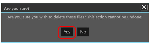PatchCleaner, delete files