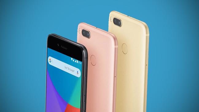 Смартфоны Xiaomi разных цветов