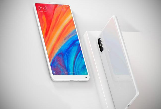 Смартфоны Xiaomi белого цвета