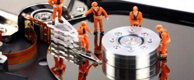 Восстановление удалённых файлов