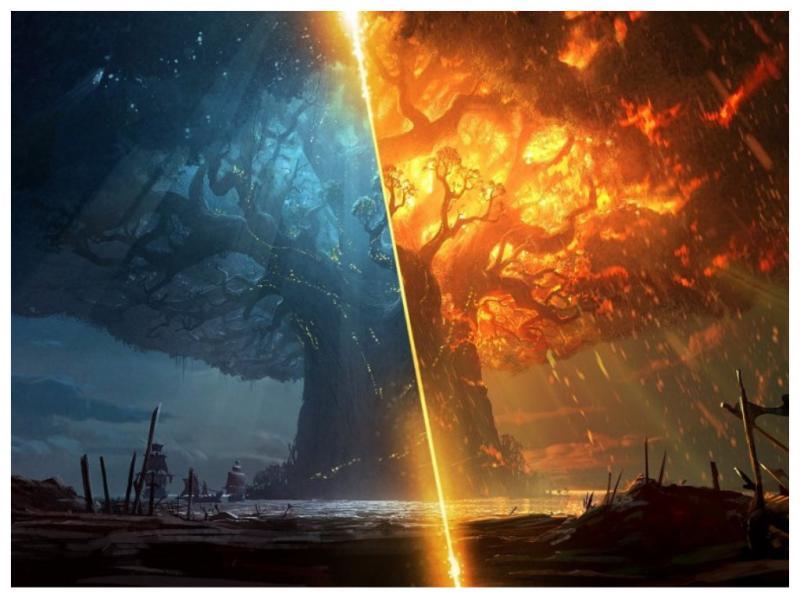 Blizzard бесплатно выпустила новеллы про сожжение Тельдрассила