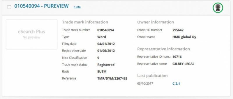 Nokia вернула себе права на бренд PureView