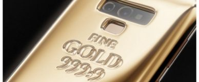 В России создали золотой Samsung Galaxy Note9