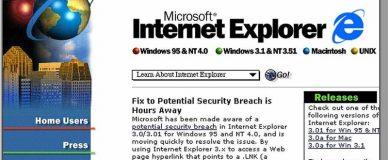 internet explorer old