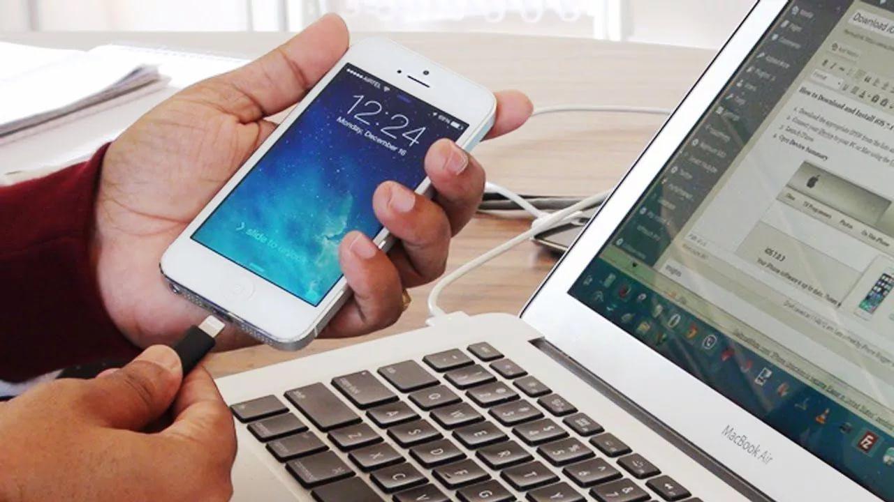 Как передать фото с телефона на ноутбук