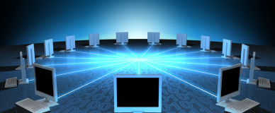 Изображение локальной сети между компьютерами