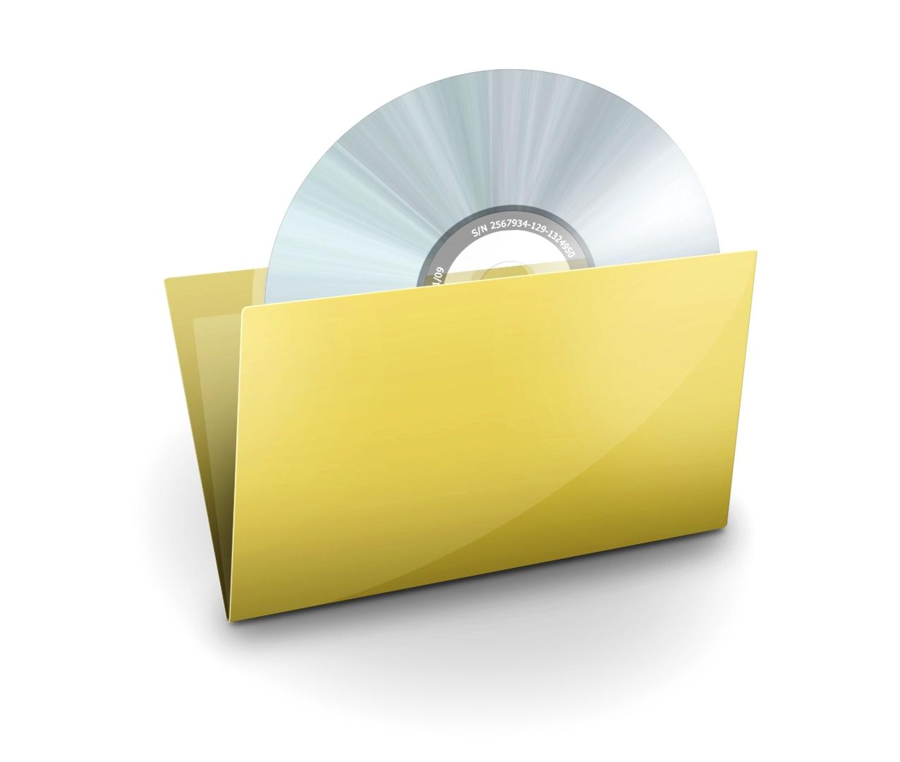 Иконка папки и диска