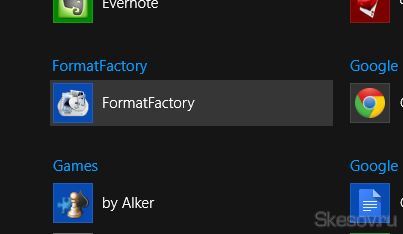 Итак, первое что нам необходимо - это найти ярлык, который мы хотим изменить. Я буду изменять значок и название для неплохого мультиконвертера FormatFactory.