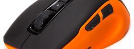 Компьютерная мышь Roccat Kone Pure оранжево-черного цвета