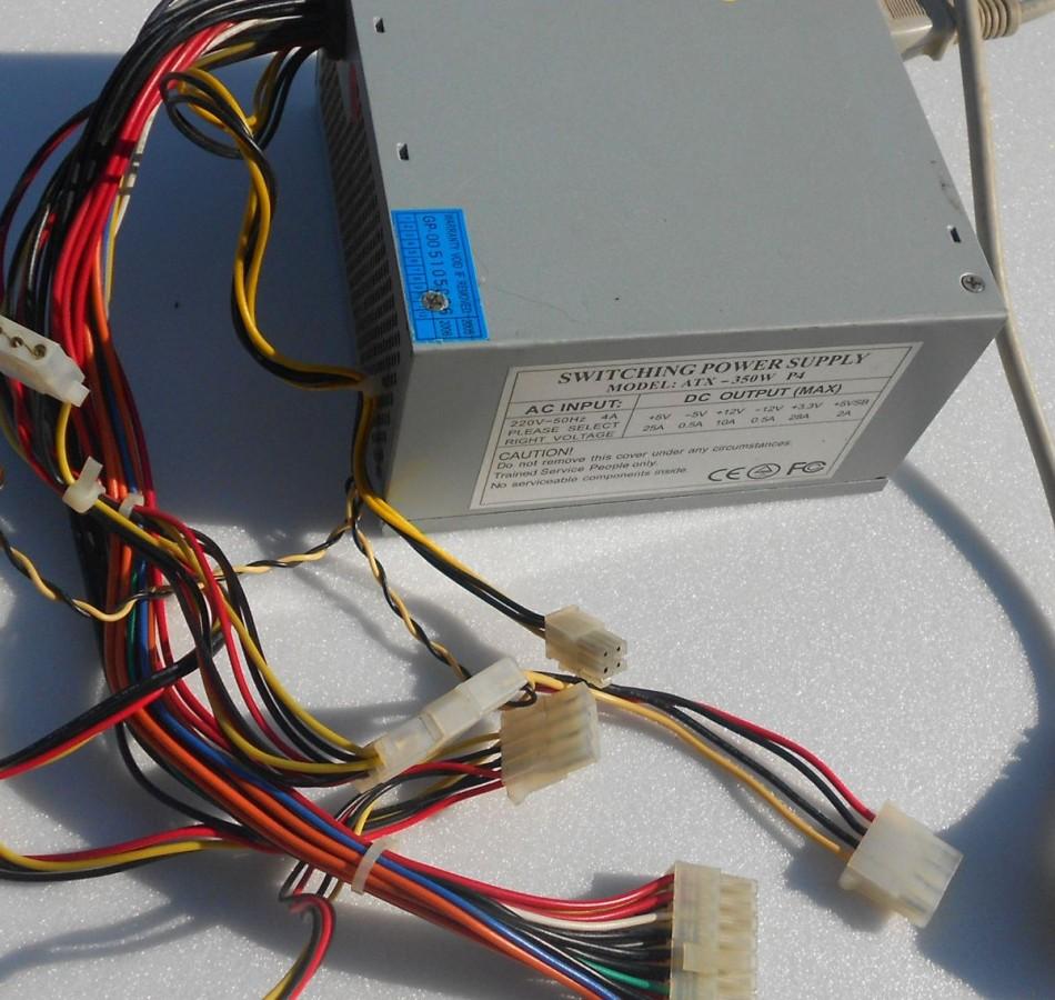 Блок питания для компьютера схема разъема