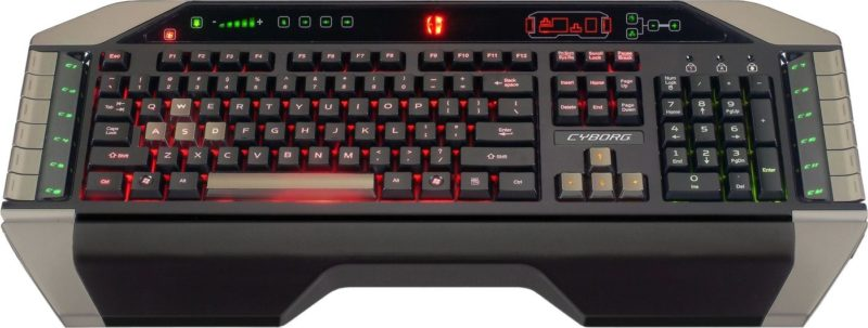 Геймерская клавиатура Mad Catz Cyborg V.7