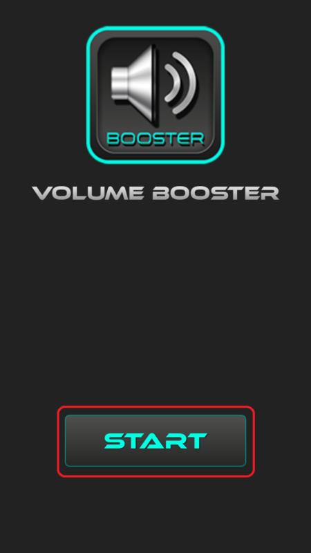 Интерфейс Volume Booster Plus