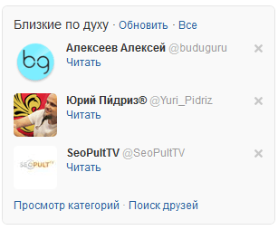 Микроблоги в Twitter