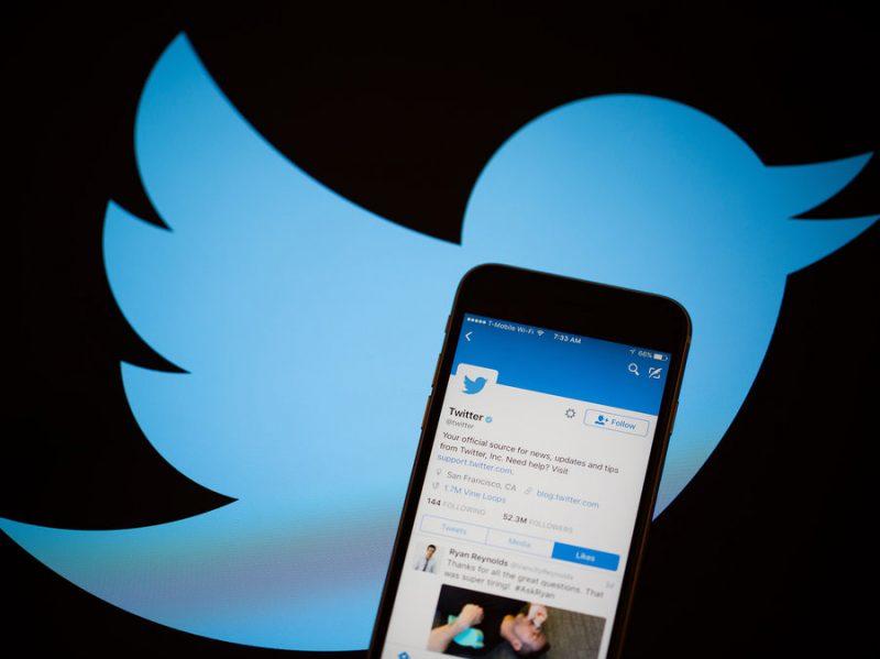 Логотип Twitter и аккаунт Twitter