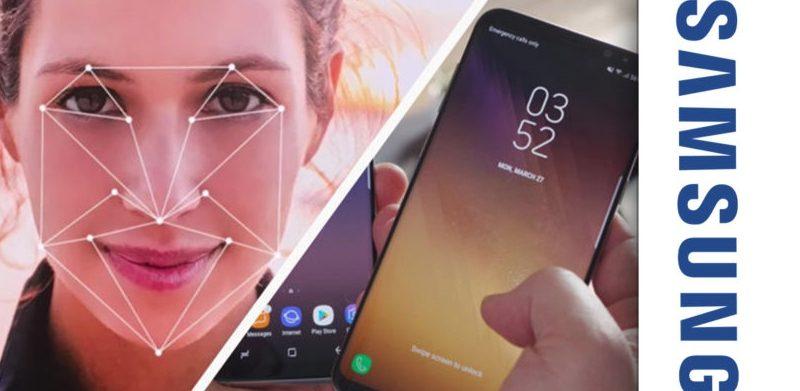 Сканер лица от Samsung